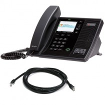 Polycom CX600 VoIP Phone with patch lead