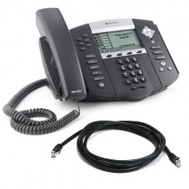 Polycom IP650 Soundpoint HD Telephone with patch lead