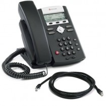 Polycom IP 331 Phone New with patch lead