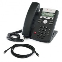 Polycom Soundpoint IP 320 SIP Phone with patch lead