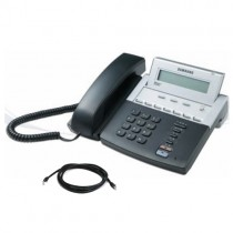 Samsung ITP-5107S Display Telephone with Patch Lead