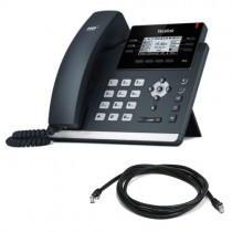 Yealink T41S-SFB IP Desk Phone in Black Skype for Business Version New