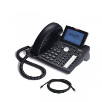 Snom 370 IP Telephone with patch lead