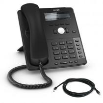 Snom D712 IP Desk Phone in Black