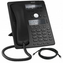 Snom D745 IP Desk Phone in Black