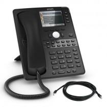 Snom D765 IP Desk Phone in Black