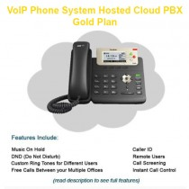 VoIP Phone System Hosted Cloud PBX - Gold Plan