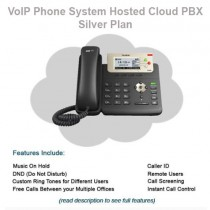 VoIP Phone System Hosted Cloud PBX - Silver Plan