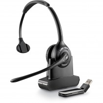 Plantronics Savi 410 Monoaural Wireless DECT Headset With USB Dongle