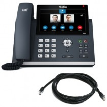 Yealink T48S-SFB IP Desk Phone in Black Skype for Business Version New