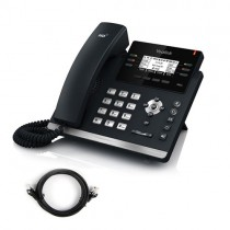 Yealink SIP-T42G IP Phone with Patch Lead