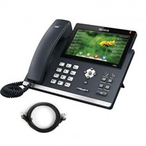 Yealink T48G VoIP Phone with patch lead