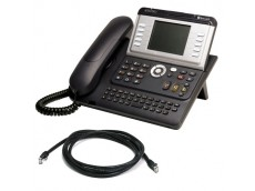 Alcatel 4068 IP Bluetooth Telephone with patch lead