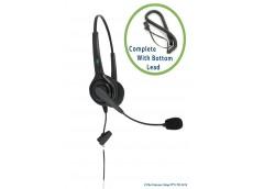Avalle AV502N Binaural Headset with Bottom Lead