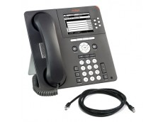 Avaya 9630G IP Telephone with patch lead