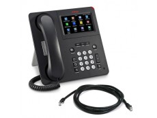 Avaya 9641GS IP Telephone with patch lead