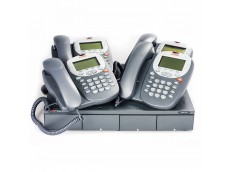 Avaya Telephone System with 4 Avaya 5410 Telephones for Four Users
