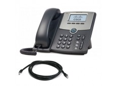 Cisco SPA502G IP Phone with patch lead