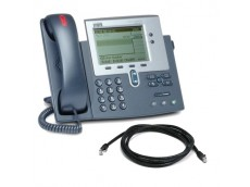 Cisco 7940G Unified IP Telephone with patch lead