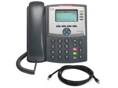 Cisco CP-524G Unified IP Phone with patch lead