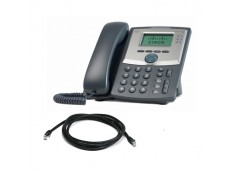 Cisco Linksys Spa 303 VoIP Phone with patch lead