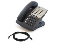 Inter-tel 8500 Telephone with patch lead