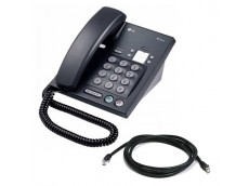 LG LIP 6804 IP Phone in Black with Patch Lead
