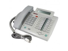 Meridian Norstar M3820 Telephone In Grey with line cord