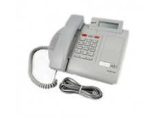 Meridian Norstar M7100N Telephone In Grey with line cord