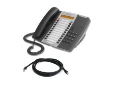 Mitel 5205 IP Telephone with patch lead