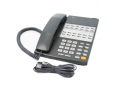 NEC DX2E-12BTH Telephone In Black with line cord