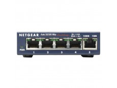 Netgear FS105 Desktop Switch Front View