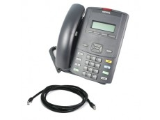 Nortel 1210 IP Phone with Patch Lead