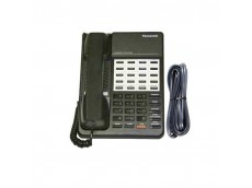 Panasonic KX-T7020 Telephone in Black with Line Cord