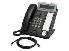 Panasonic KX-NT343 IP Telephone with patch lead