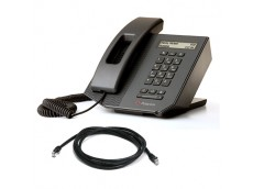 Polycom CX300 USB IP SIP Phone with patch lead