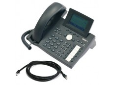 Snom 360 IP Telephone with patch lead