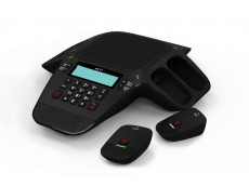 BT X500 Conference Phone New with 4 Wireless Microphones