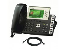 Yealink T38G VoIP Phone with Patch Lead
