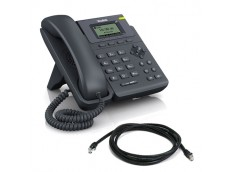 Yealink SIP-T19P Corded Phone with patch lead
