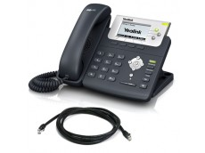 Yealink SIP-T22P IP Phone with patch lead
