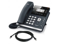 Yealink T41P SIP Phone with patch lead