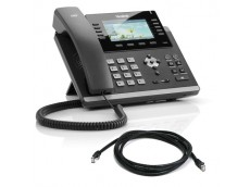 Yealink T46G Phone with patch lead