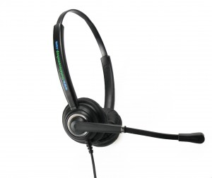 TTS 612D Binaural NC Headset with PLX Quick Disconnect Connection NEW