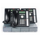 Avaya IPO500 ISDN Telephone System with Three Avaya 1616 IP Telephones