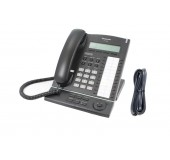 Panasonic KX-T7630 KX-TDA Display Telephone in Black