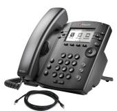 Polycom VVX 301 Business Media Phone in Black New