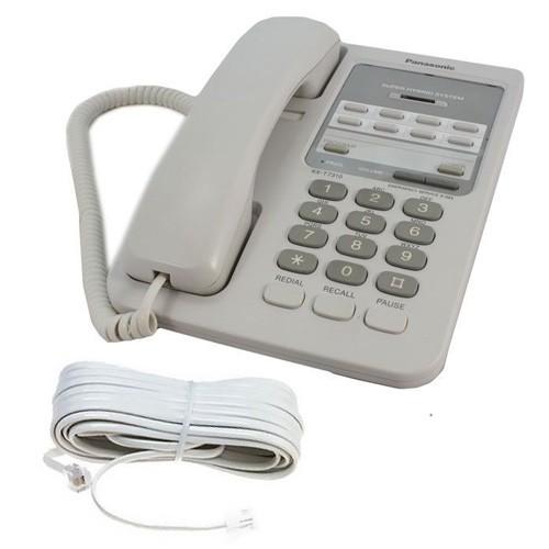 Panasonic Kx T7310 Telephone In White